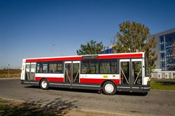 Autobus Škoda 21 Ab č. 445  z roku 1997